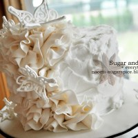 How to Make Fondant Ruffles for Cakes [Tutorial]