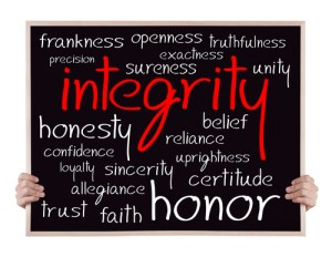Leader Influence Business with Integrity