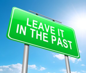 Leave the past behind and start the journey