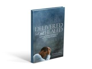Book Cover design for Delivered but not Healed