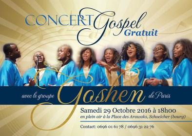 Goshen CHoir Concert Flyer