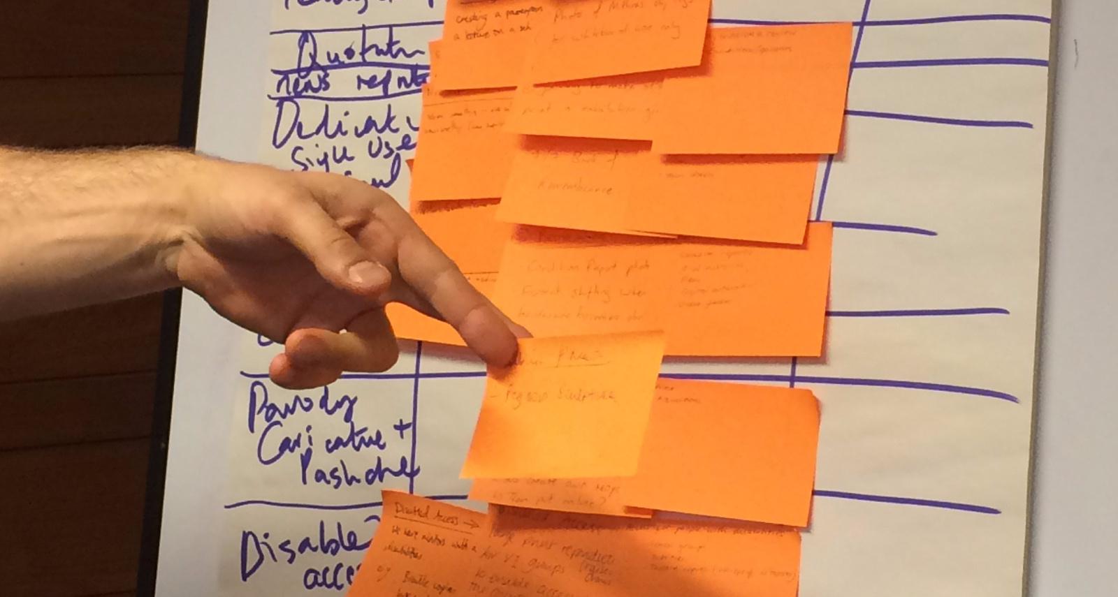 flipchart-with-orange-notes
