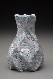 Thrown and Carved Vase