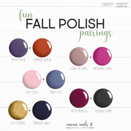 fall polish, gel polish, fall nail polish, polish pairs, gelmoment, gel polish, naomi nails it