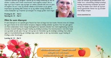 Alternativmesse 22-24.03 – Bergen