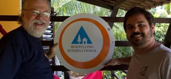 E os blogueiros da RBBV firmam parceria com o Hostelling International…
