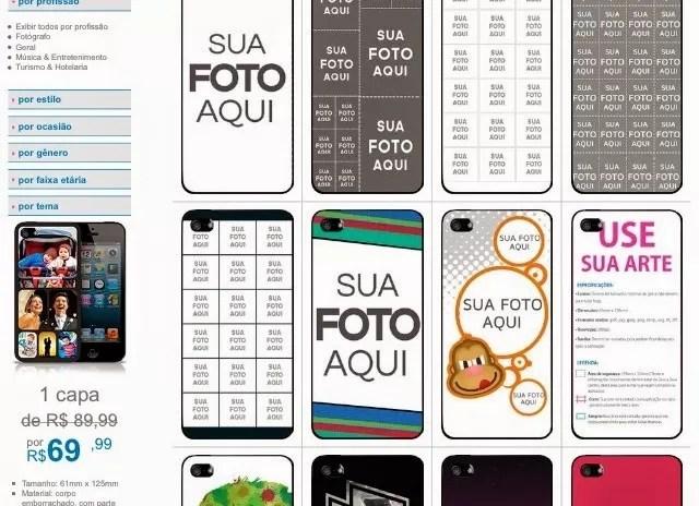A Flor testou! – Capa de celular Zocprint