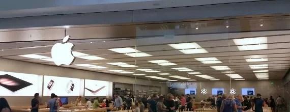 Como é uma loja da Apple nos Estados Unidos – aquela curiosidade..