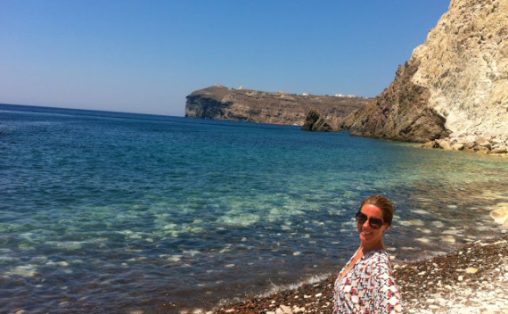 Praias de Santorini – Red, White and Black beaches para ir!