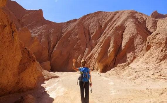 Quebrada del Diablo, Atacama – trekking personalizado no deserto