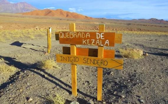 Quebrada de Kezala, Atacama – tour personalizado no deserto