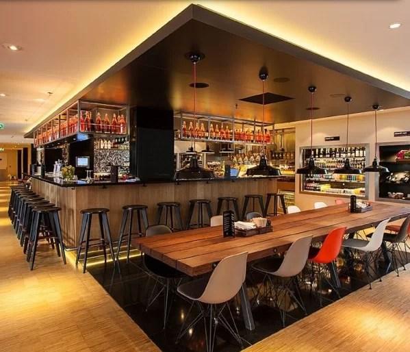 O restaurante bar que fica lotado a partir das 18hs. Foto: Arquivo pessoal