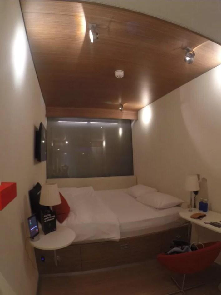 A cama, de parede à parede. Foto: Arquivo Pessoal