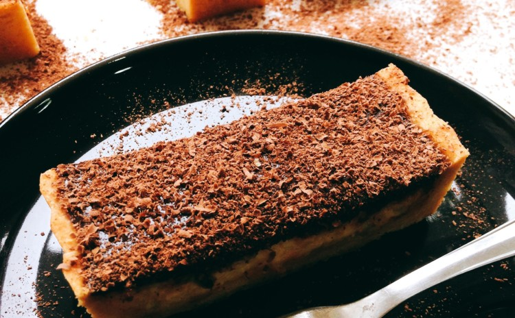 Como fazer torta de maracujá com chocolate?