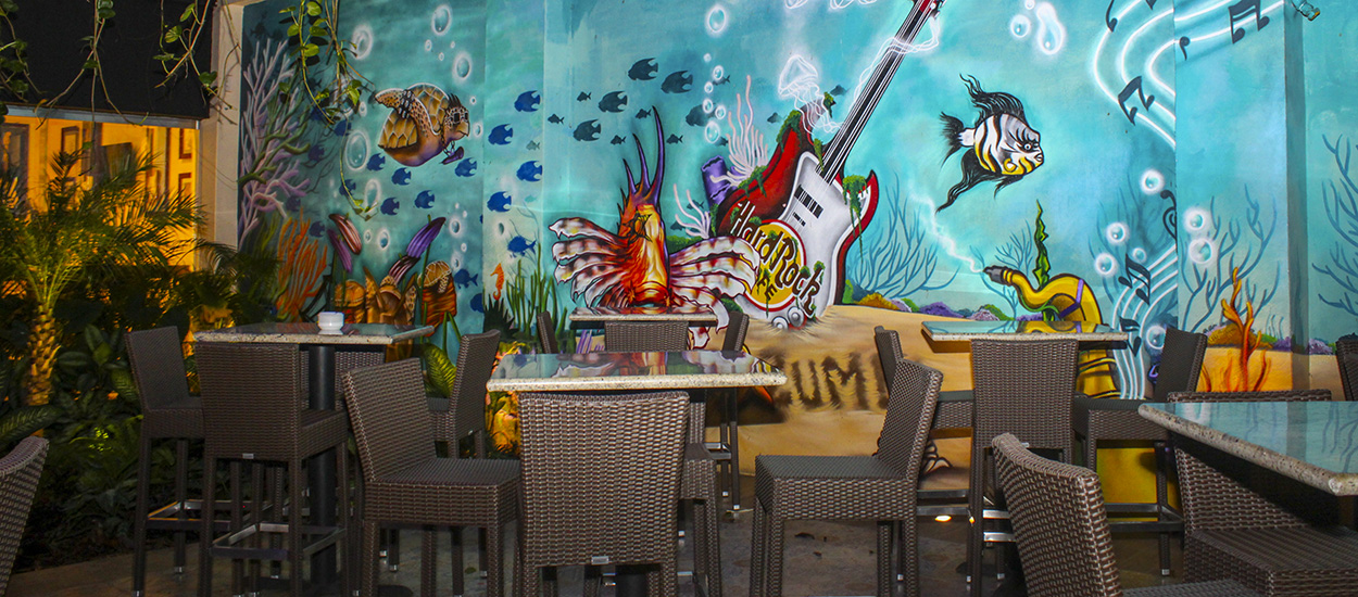 Crédito da foto: website Hard Rock Cafe Cozumel