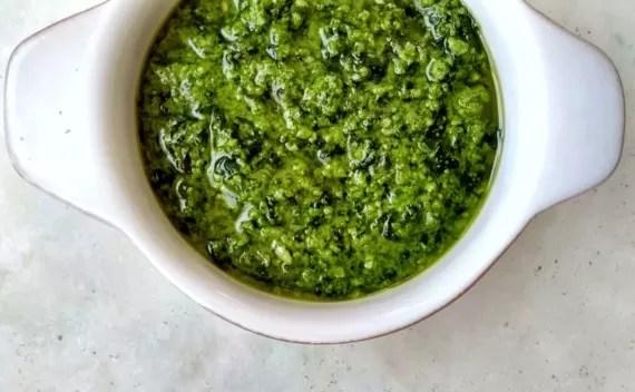 Pesto alla genovese – saiba com fazer!
