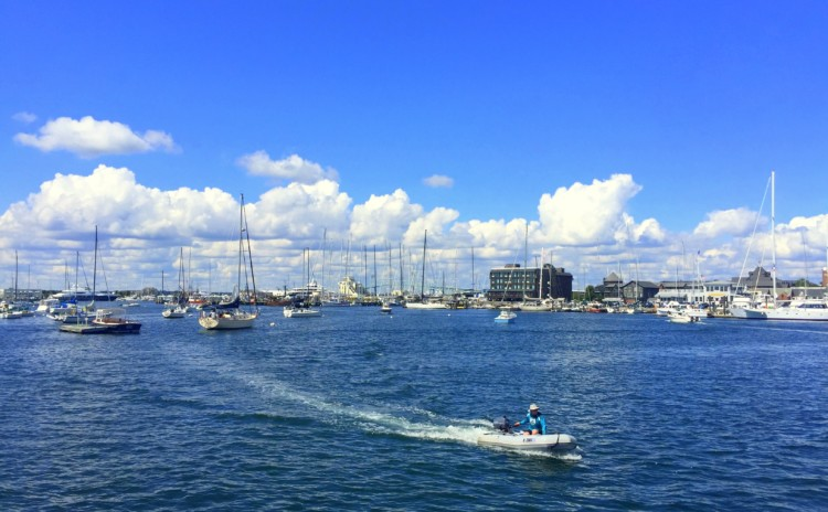 Bate volta de Boston a Newport, Rhode Island