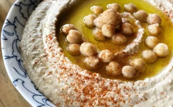 Como fazer homus bi tahine (pasta de grão de bico)? Receita vapt vupt!