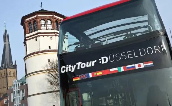 Hop on Hop off em Dusseldorf – para ter uma primeira impressão da cidade