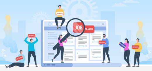 Job search. Recruitment. Head Hunting in social network