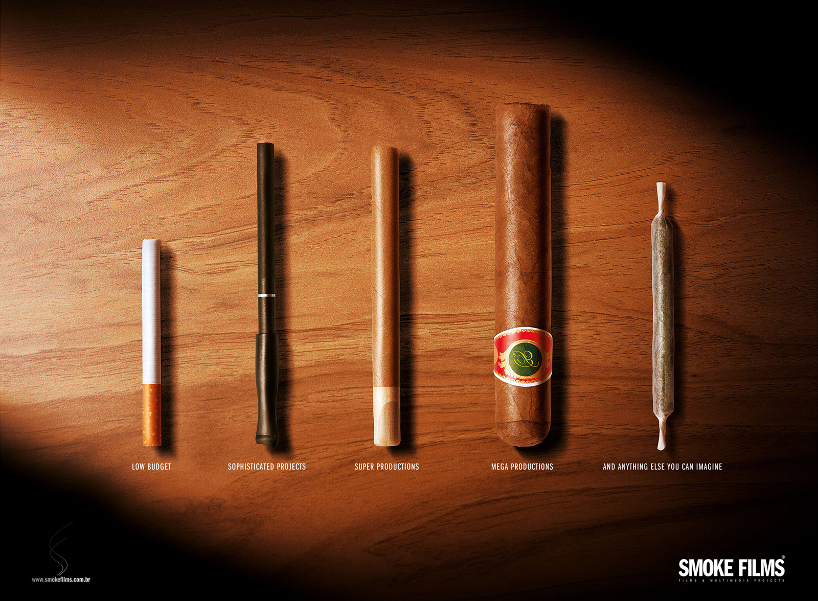 Smoke Films Print Advert By Fire Joint Ads Of The World