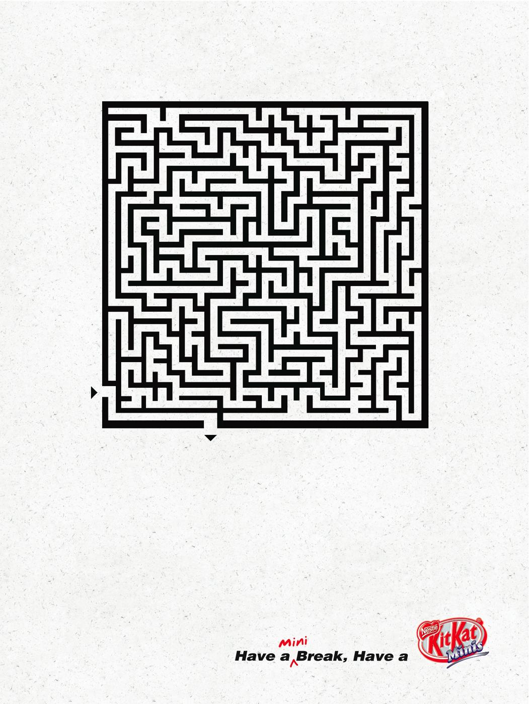 Kit Kat Print Advert By Jwt Maze