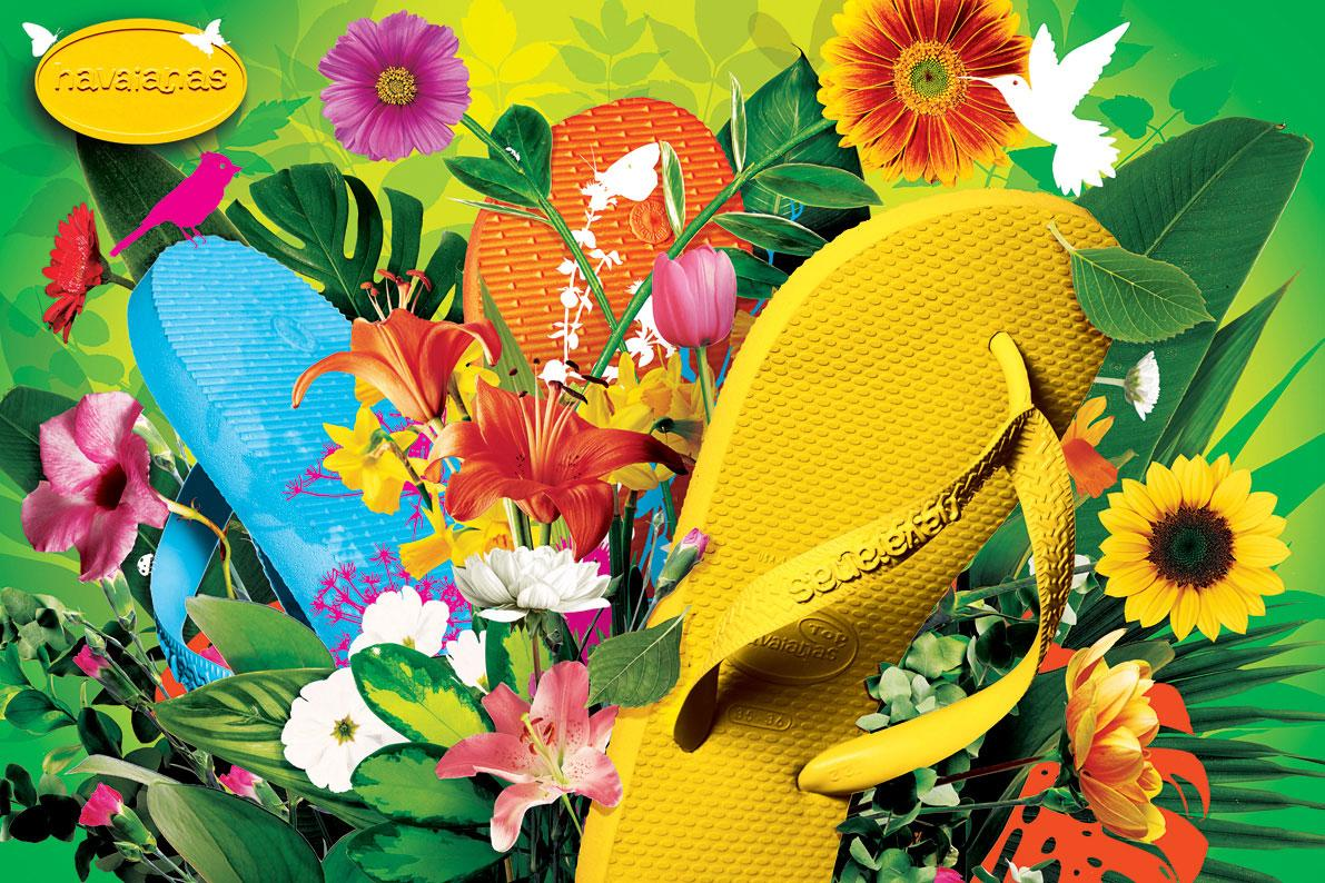 2bd239fd6e428e Havaianas Print Advert By Bbdo  Plants Ads Of The World