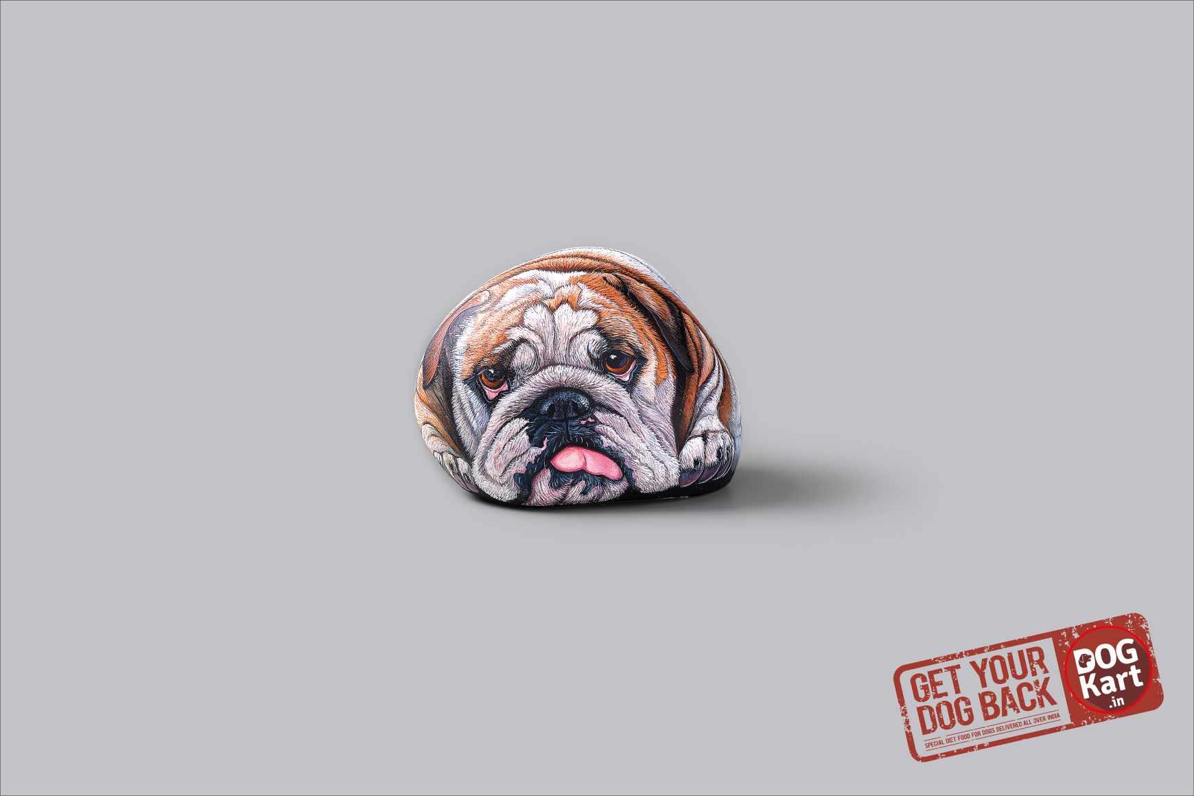 Dogkart Print Ad - Rock Heavy - Heavy Bulldog