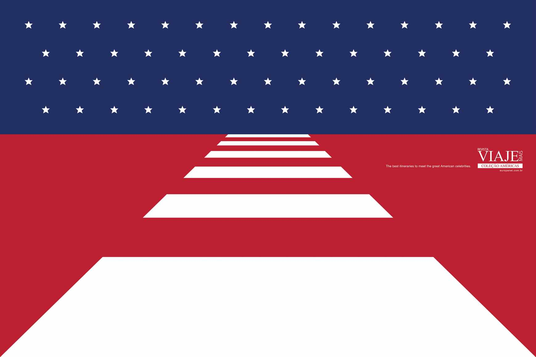 Editora Europa Print Ad - Flags - USA