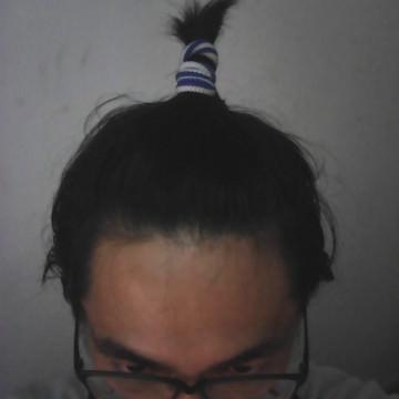 ちょんまげヘアー