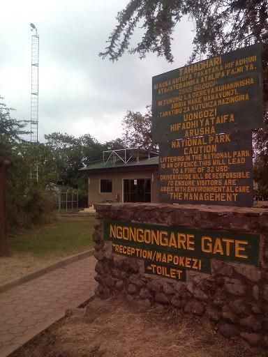 NGONGONGARE ゲート