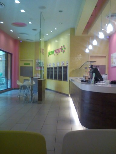 planet yogurt shop