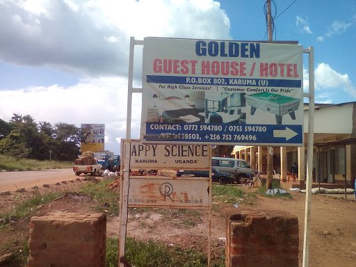 Golden Guest House Sign