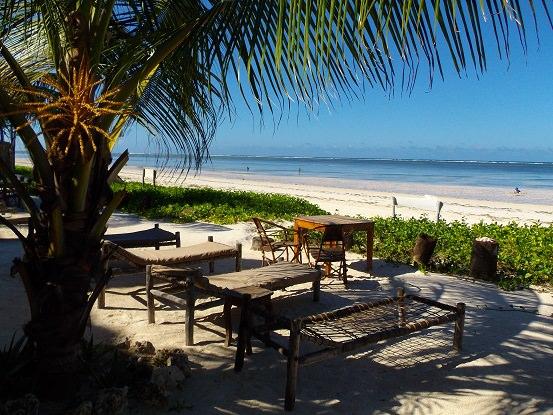 Sahari Zanzibar ビーチサイド