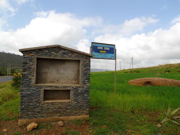 Lion of Gobedra Signpost