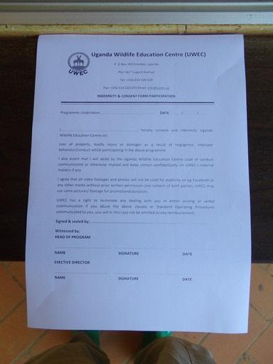 UWEC Indemnity