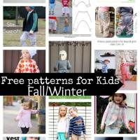 20 free sewing patterns for kids Fall/Winter 2015