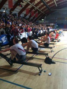 NK Indoorroeien mannen (Foto: Jolanda van de Beld)
