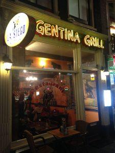 Steakhouse La Stego in de Damstraat