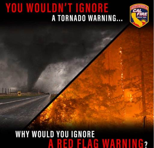 Don't Ignore Red Flag Warnings