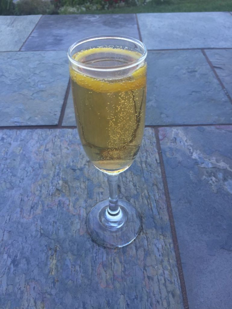 The Champagne Cocktail