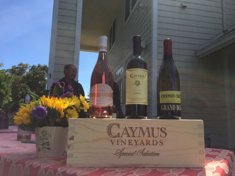 Caymus Wines @ Suisun Passport Sunday