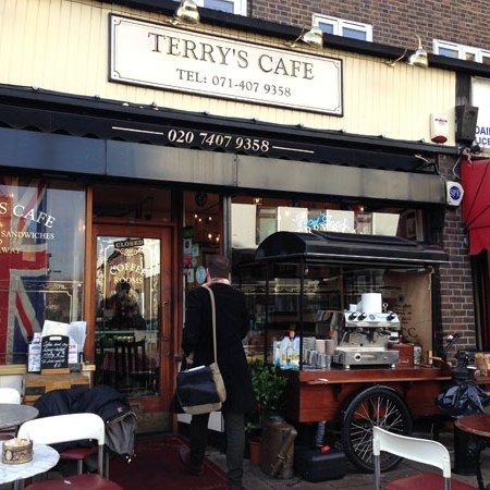 Terry's Cafe – Southwark, London, UK