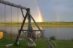 The Rainbow Over The Middle Kuskokwim