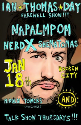 2013 - 01 18 - Napalmpom, Shematomas, NerdX