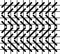 Alternating Offset Mosaic Stripe