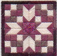 Quilt Block Needlepoint Twinchy Challenge August 2008