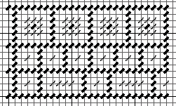 needlepoint random blocks pattern
