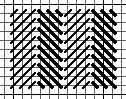 alternating diagonal gobelin stripe stitch for needlepoint