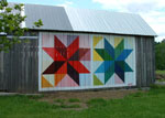 lemoyne star quilt barn in ohio